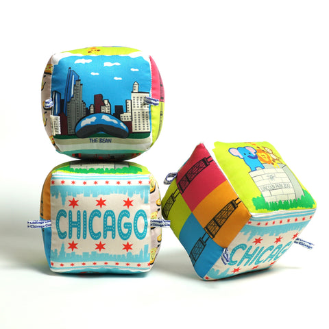 Chicago City Block – Made in Collaboration with Globe Totters