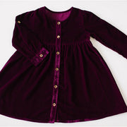Misha Dress - Berry *imperfect*