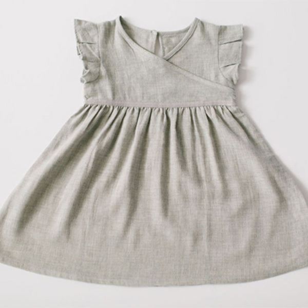 Padma Dress * Imperfect* - Grey Marl