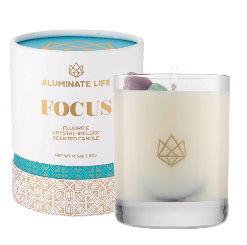 Focus Candle - Aluminate Life