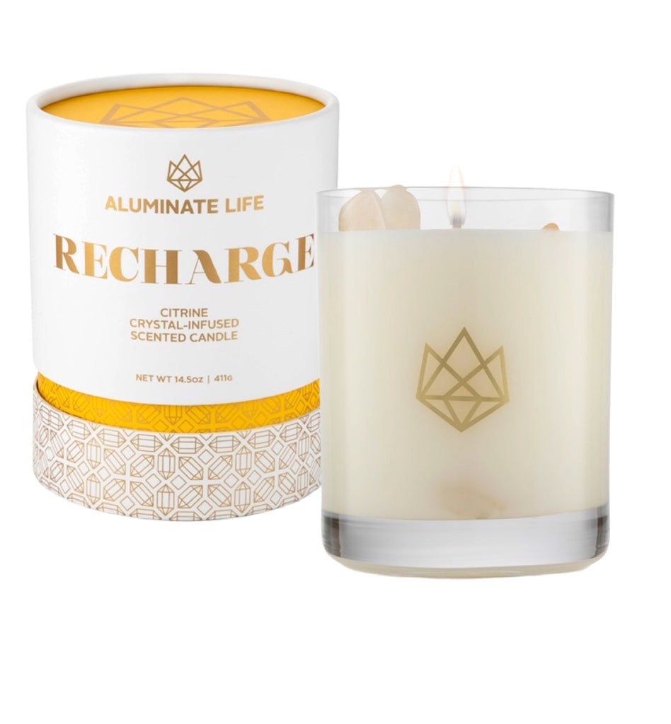 Recharge Candle - Aluminate Life