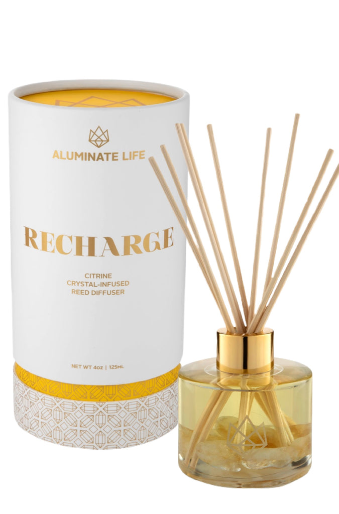 Recharge Reed Diffuser - Aluminate Life