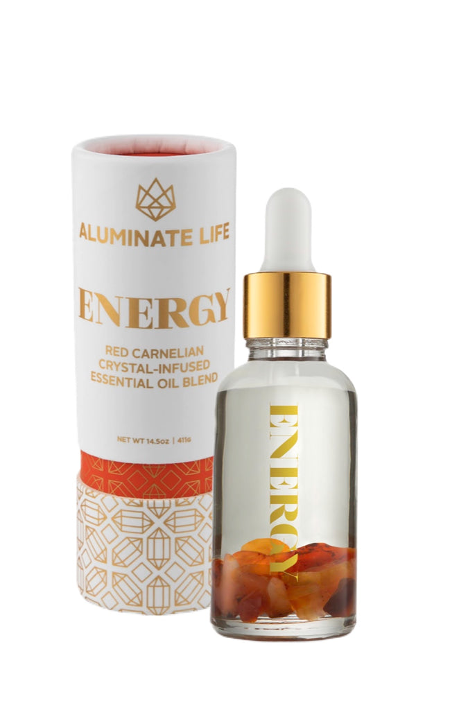 Energy Essential Oil Vial - Aluminate Life