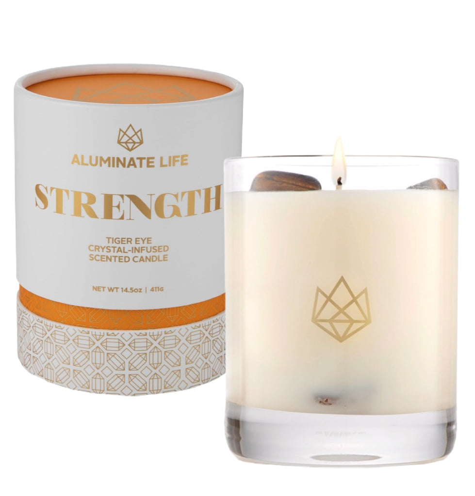 Strength Candle - Aluminate Life