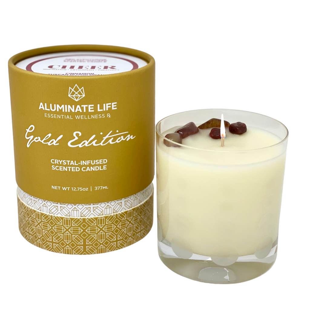 CHEER Seasonal Candle - Aluminate Life