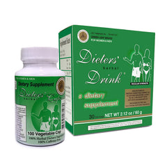 Original Green Leaf Brand Dieters' Herbal Drink
