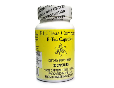 E-Tea Herbal Capsules (30/bottle)