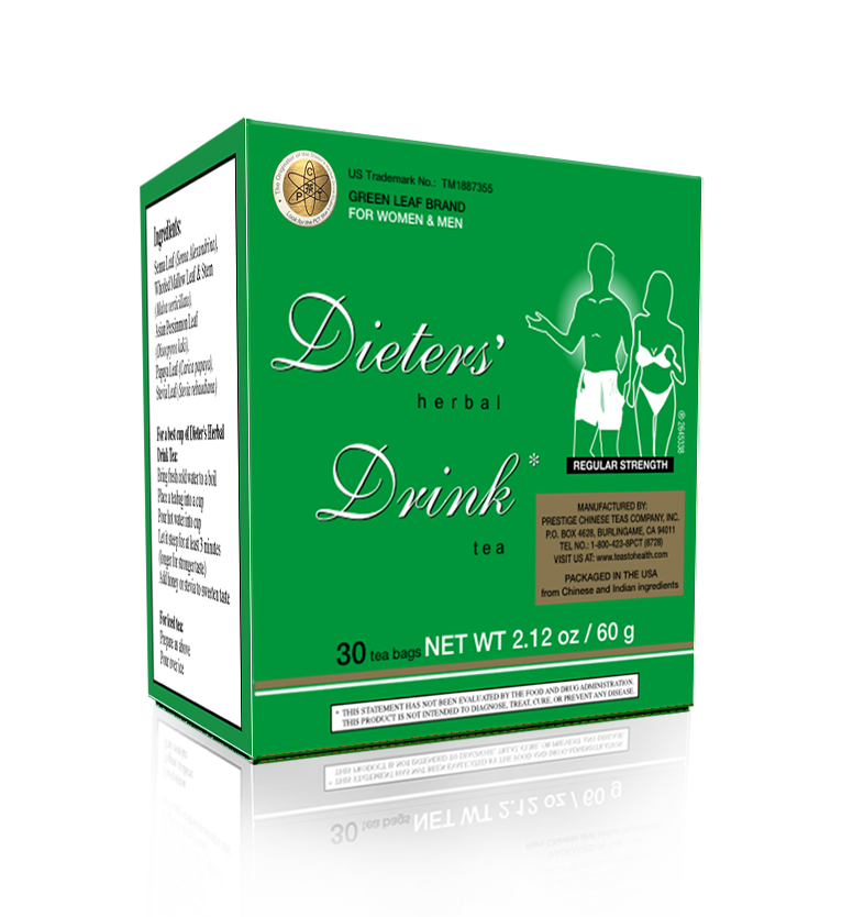PCT's Dieter's Herbal Drink Regular Strength (30 Bags)