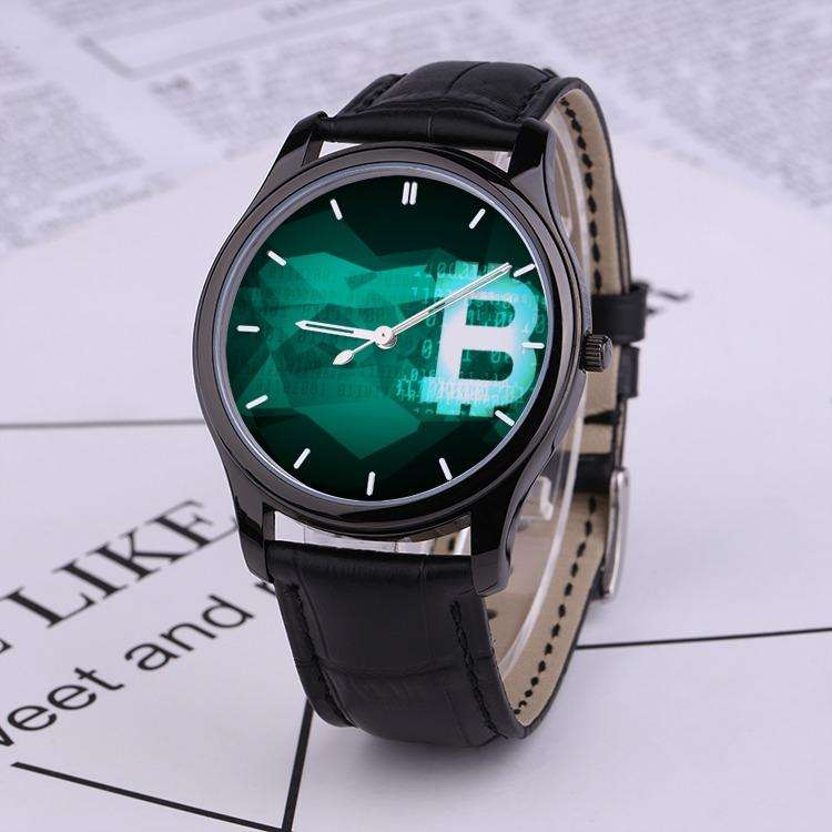 BTC ELEGANCE WATCH (Genuine Leather)