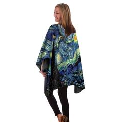 Van Gogh's Starry Night rain cape