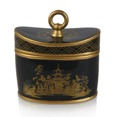 Black Chinoiserie candle