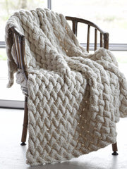 Basketweave blanket