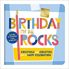 Birthday on the Rocks coaster book
