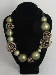 Bead and bangle necklace