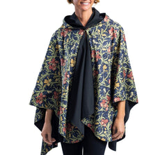 William Morris print rain cape