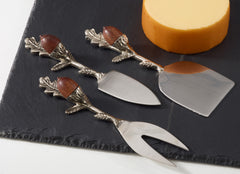 Acorn cheese set