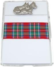 Scotties lucite noteholder
