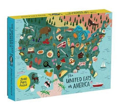United Eats of America puzzle