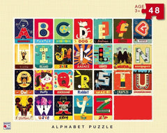 Paul Thurby Alphabet puzzle