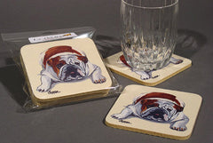 Dog rubber coasters
