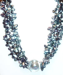 Gray Keshi Pearls