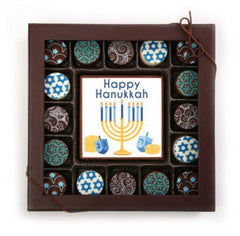 Hannukah chocolate