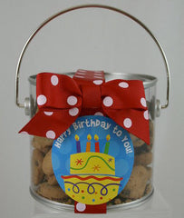 12 Happy Birthday cookies