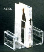 Lucite Bookends