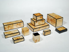 Lacquered boxes starting at