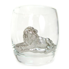 African animals whiskey glasses