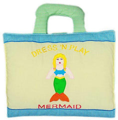 Dress up mermaid book