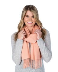 26 colors of cashmere blend scarf