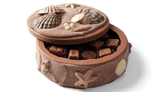 Chocolate seashell box