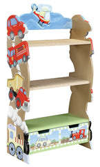 Transportation bookcase