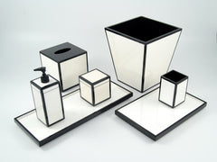 Lacquered bath items