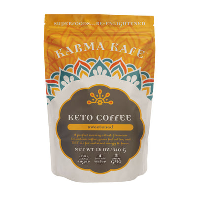 Keto Coffee (sweetened)