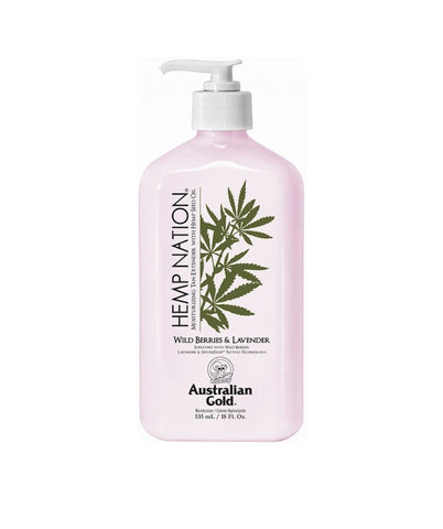 Hemp Nation Wild Berries & Lavender Tan Extender