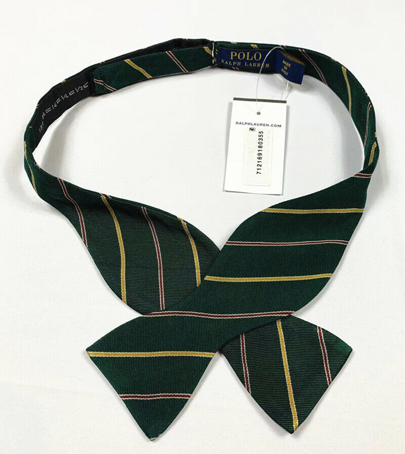 NWT  Polo Ralph Lauren Mens Hand Made In Italy ALL OVER PONY Silk Neck Tie #B