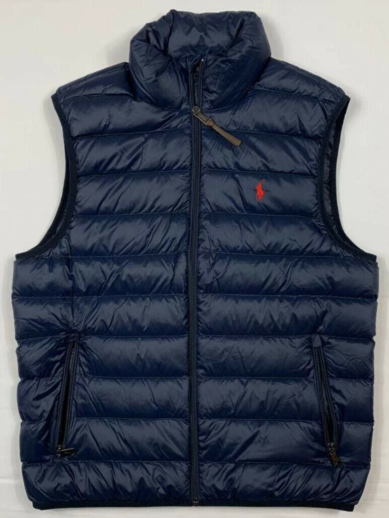 NWT-Men-039-s-Polo-Ralph-Lauren-DOWN-FILLED-Puffer-Vest-Jacket-Packable-Size-S-M-L miniature 13