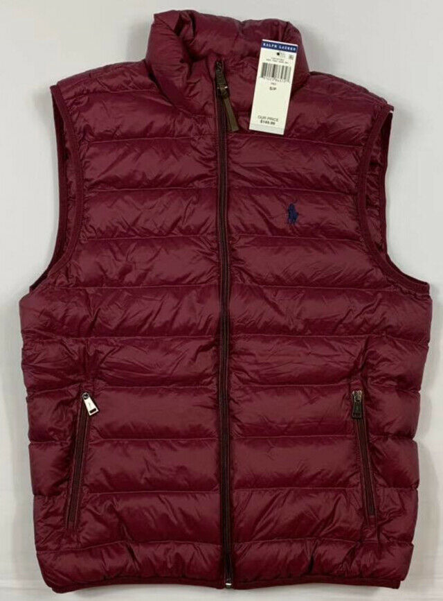 NWT-Men-039-s-Polo-Ralph-Lauren-DOWN-FILLED-Puffer-Vest-Jacket-Packable-Size-S-M-L miniature 5