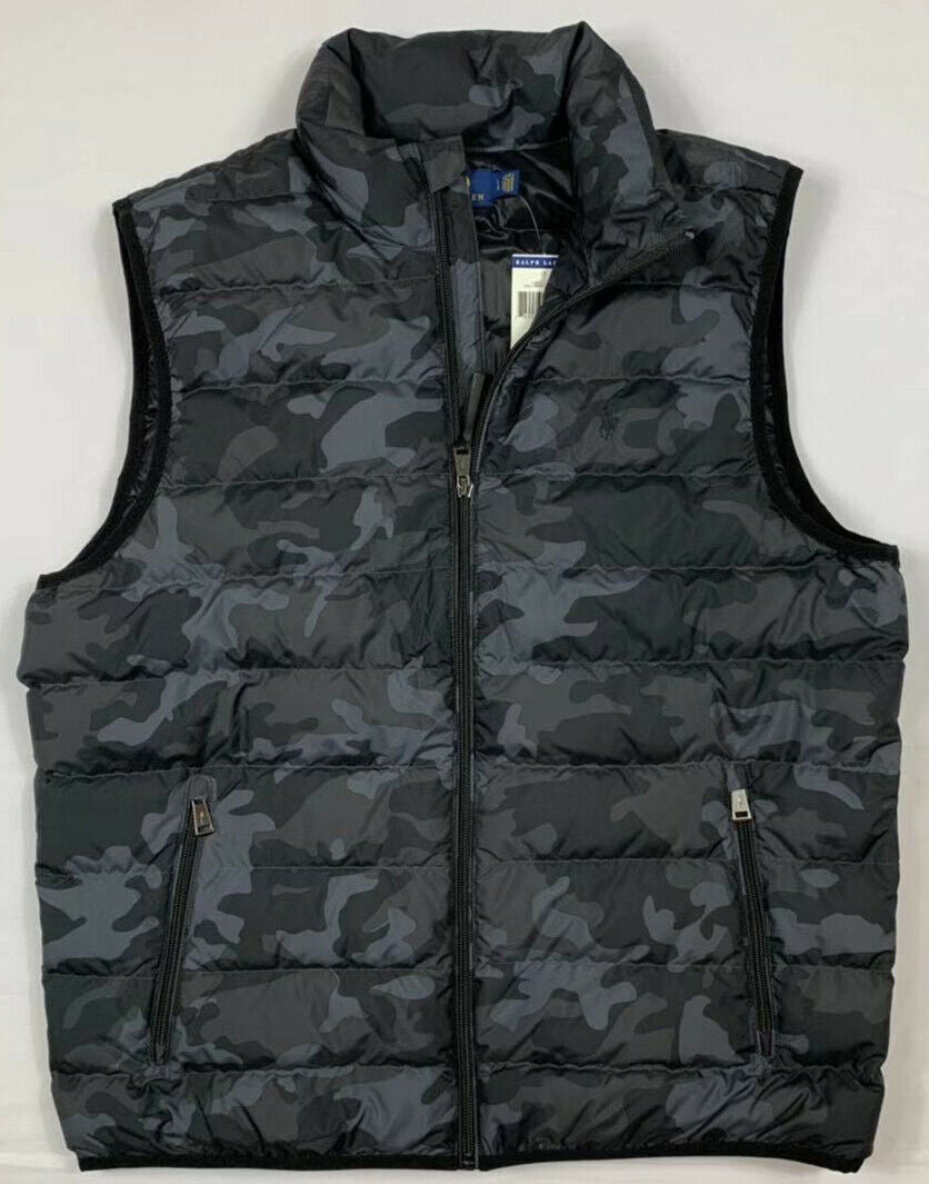 NWT-Men-039-s-Polo-Ralph-Lauren-DOWN-FILLED-Puffer-Vest-Jacket-Packable-Size-S-M-L miniature 11