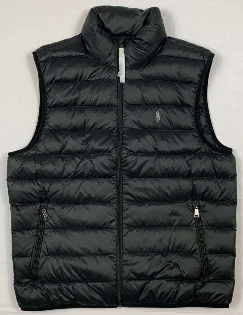 NWT-Men-039-s-Polo-Ralph-Lauren-DOWN-FILLED-Puffer-Vest-Jacket-Packable-Size-S-M-L miniature 9