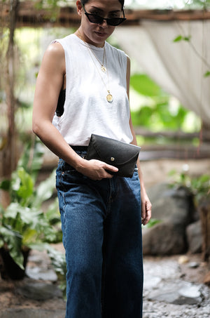 The Classic Fanny Pack in Ink