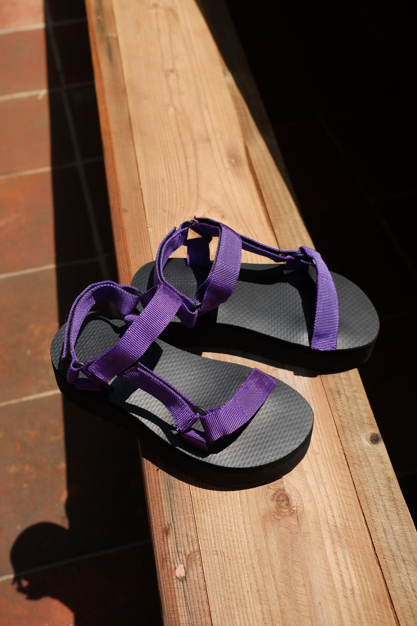 24mm Sporty Sandals in Ube