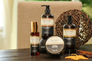 Keratin de Luxe Premium Shampoo,Conditioner, Hair Mask and Hair Oil set