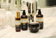 Load image into Gallery viewer, Keratin de Luxe Premium Shampoo,Conditioner, Hair Mask and Hair Oil set