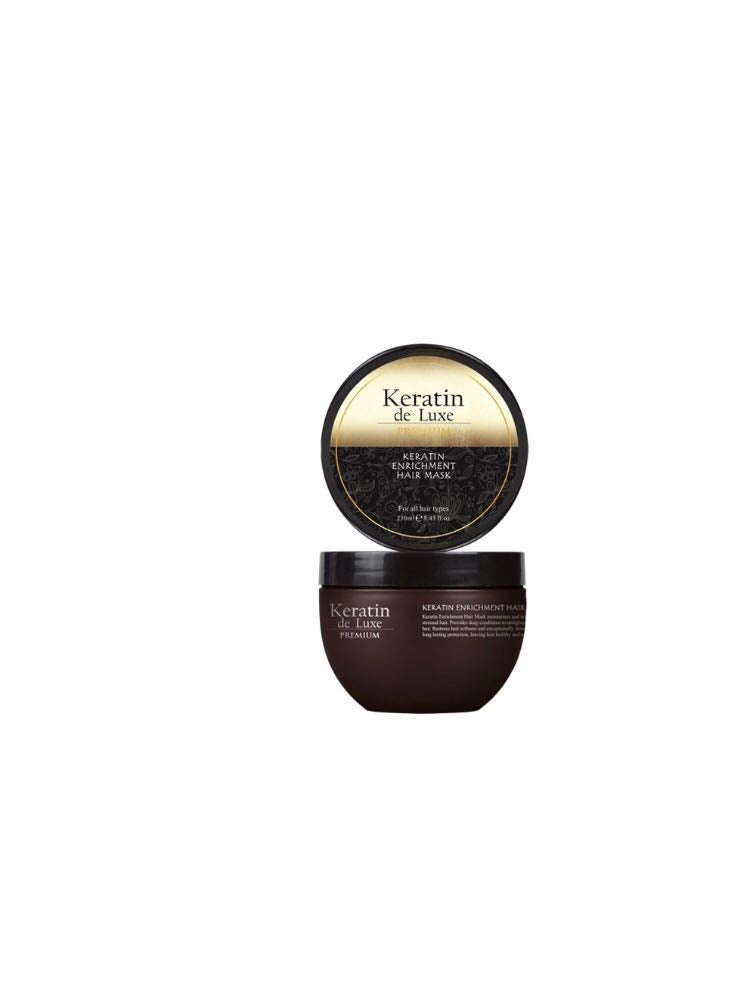 Keratin de Luxe Premium Hair Mask (Limited edition Chocolate Scent) 8.45 fl.oz.