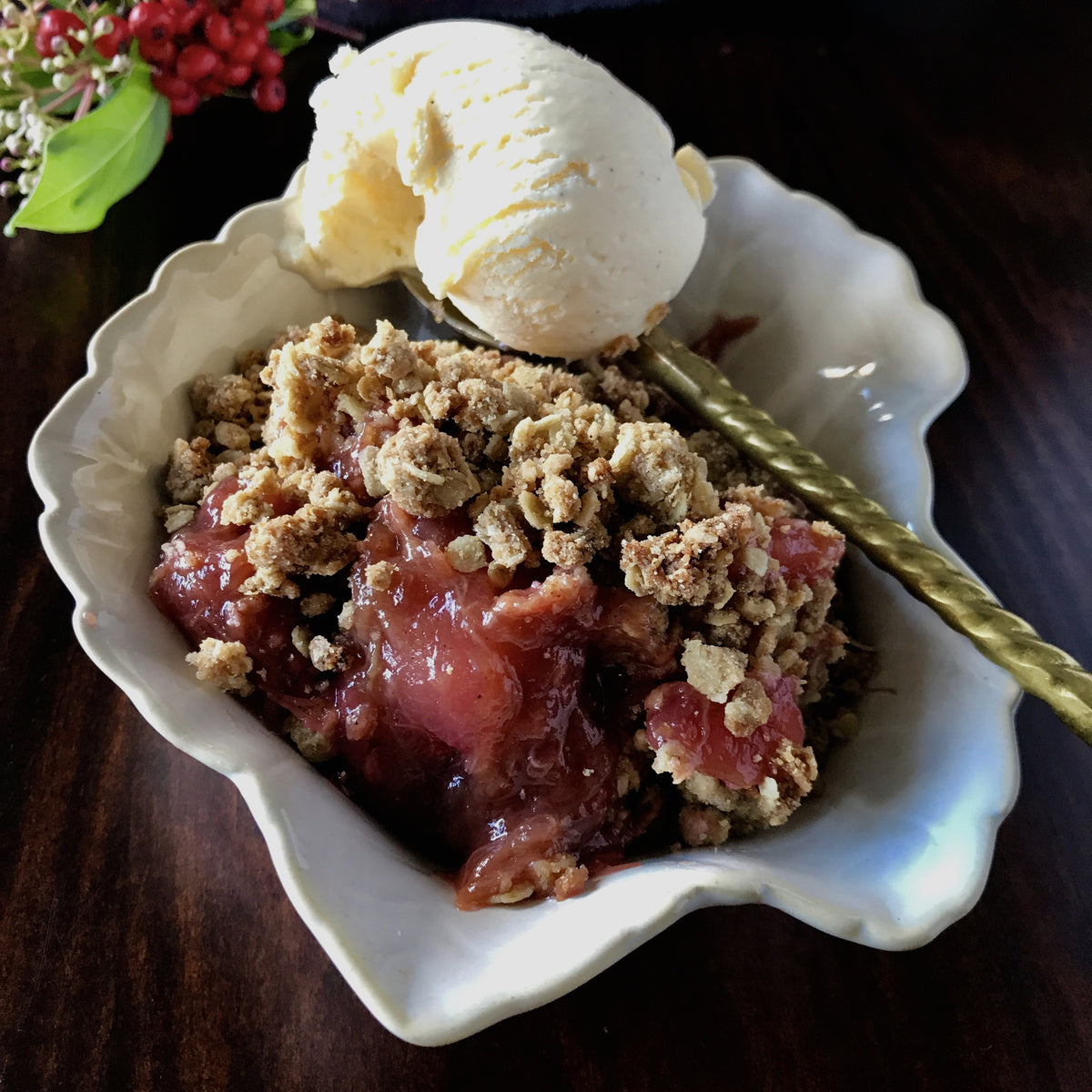 Plum Crumble | Freezer