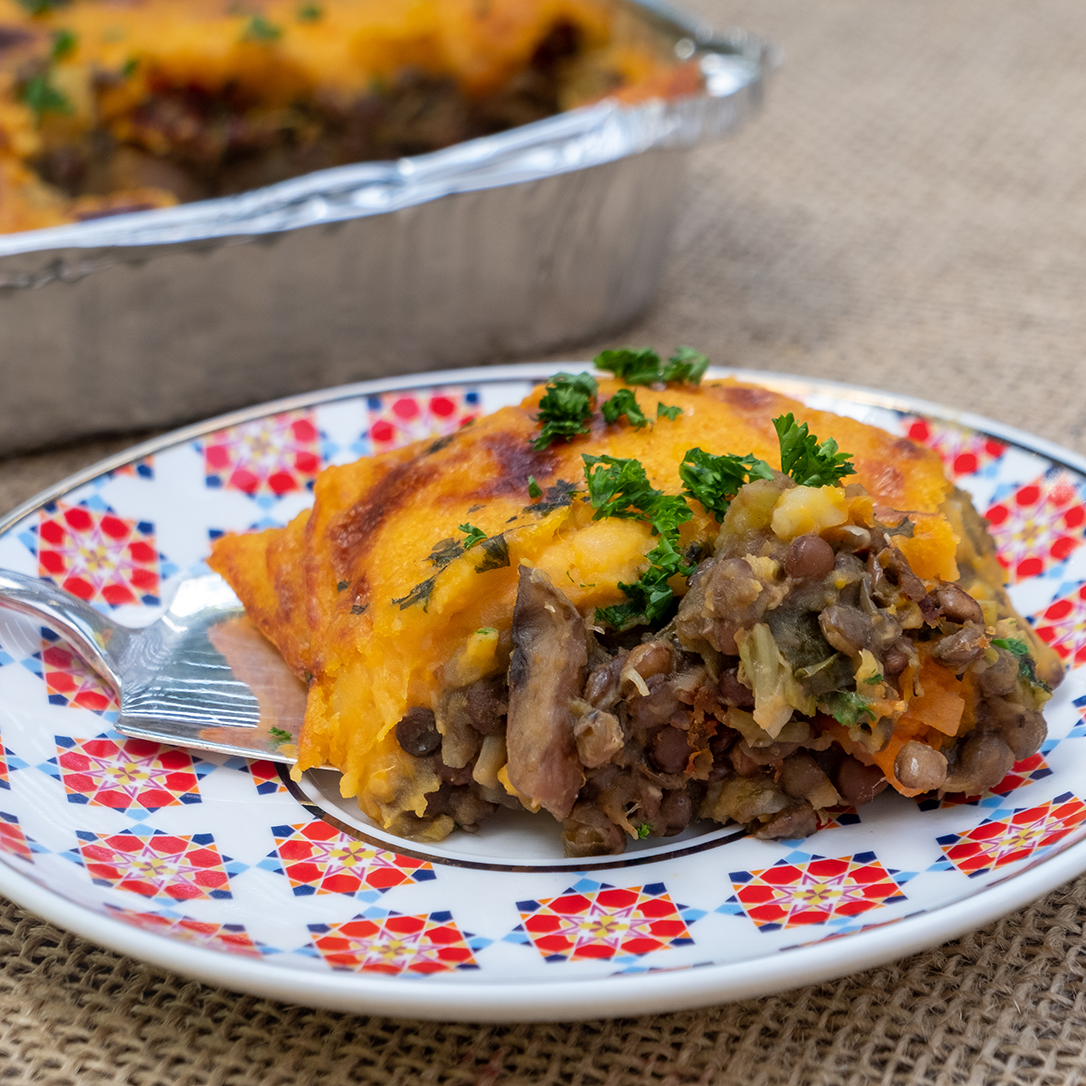 Lentil & Kumara Cottage Pie | Freezer