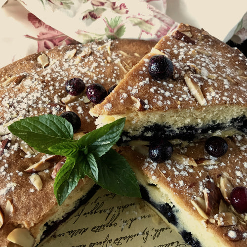 Blueberry & Almond Tart | Freezer